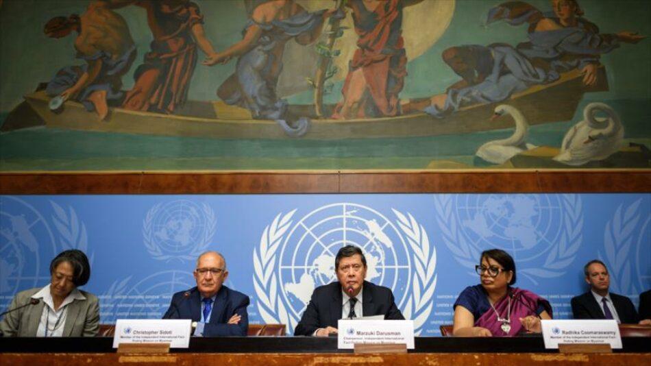 La ONU ve indicios de genocidio del gobierno birmano contra los rohingyas
