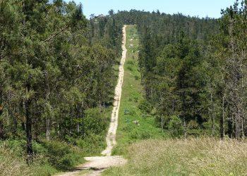 Cabana se «estrella» en la protección del patrimonio de los montes de Borneiro