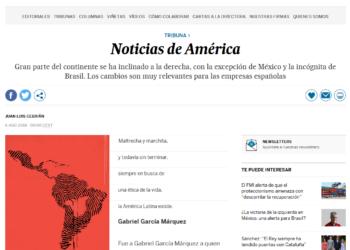 Carta abierta, sobre Nicaragua, a D. Juan Luis Cebrián