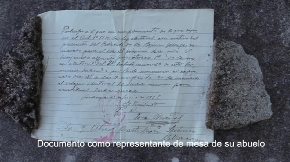 Primer documental de la ARDF Desaparecidos