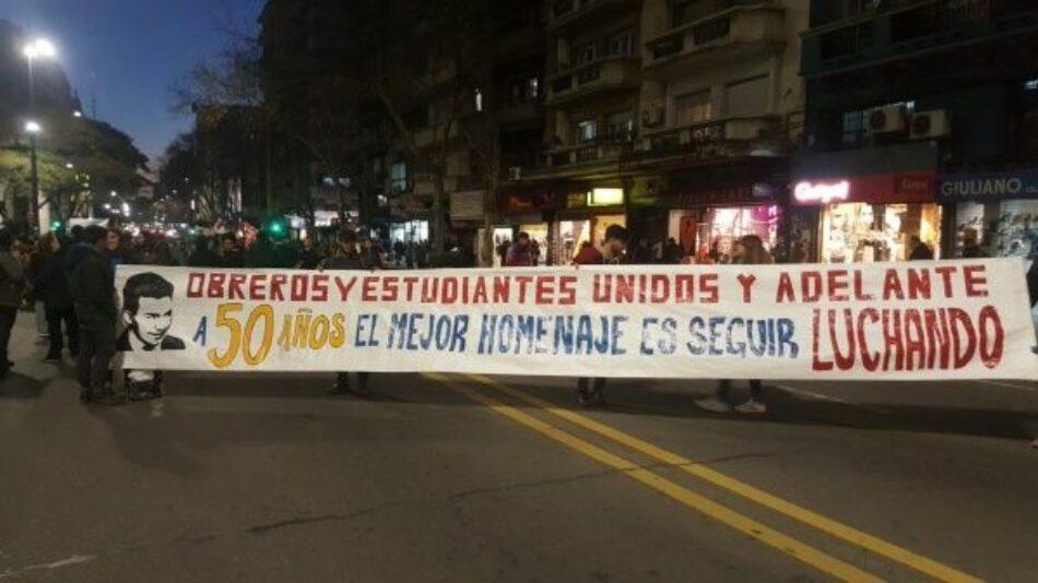 Uruguay rememora a Liber Arce y a los estudiantes asesinados en el 68