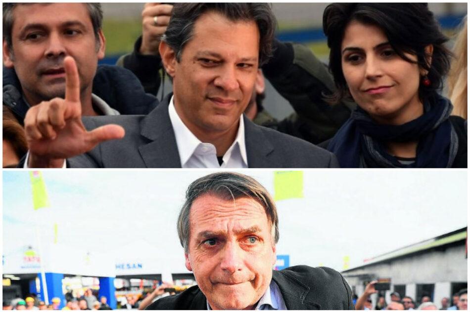 Inédito empate entre favoritos rumbo a presidenciales en Brasil