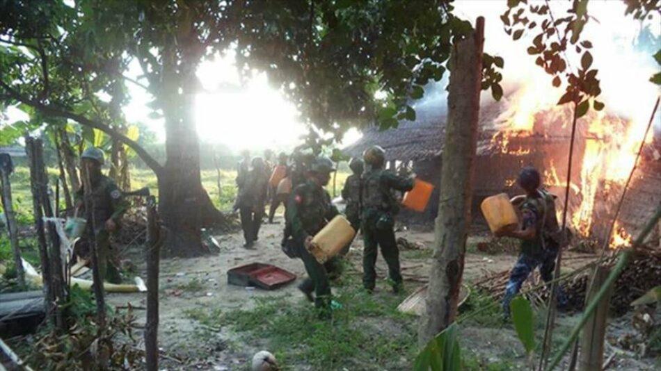 Naciones Unidas acusa a altos mandos del ejército birmano de genocidio