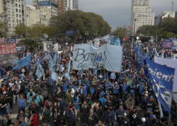 Jornada Nacional de Protesta en Argentina