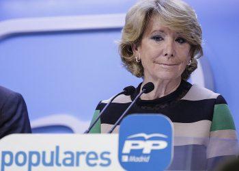 IU apremia a la  Audiencia Nacional a pronunciarse sobre si imputa al PP y a Esperanza Aguirre en la Púnica