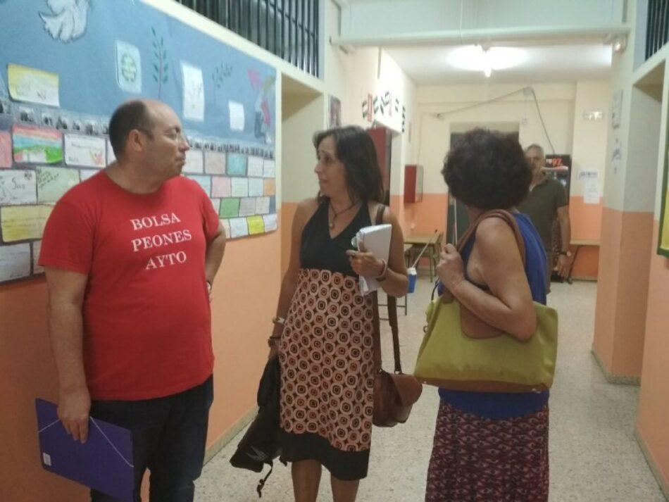 Participa denuncia que el CEPER Polígono Norte no ha podido iniciar el curso por falta de portería