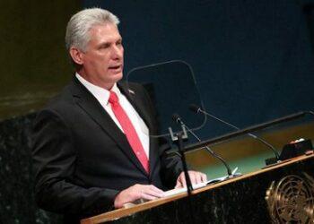 Discurso de Miguel Díaz-Canel en ONU. «Viva la dignidad cubana»