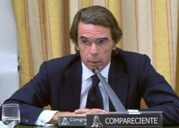 Pablo Iglesias: «Aznar va a pasar a la historia como una figura menor y patética»