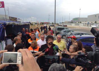 Sarrión solicita aplazar el pleno de la Cortes para que los grupos acudan a la UE a apoyar a la plantilla de VESTAS