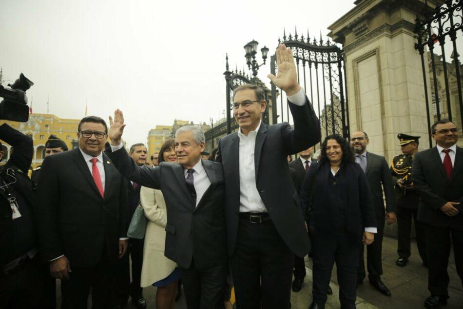 Congreso peruano aprueba voto de confianza al Gobierno de Vizcarra