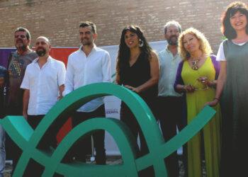 Maíllo y Rodríguez presentan su lista para las primarias de Adelante Andalucía