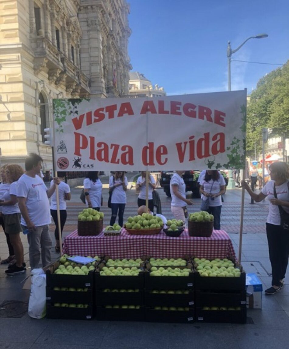 Convocan Concentración en el Ayuntamiento de Bilbao  bajo el lema «Vista Alegre, plaza de vida»