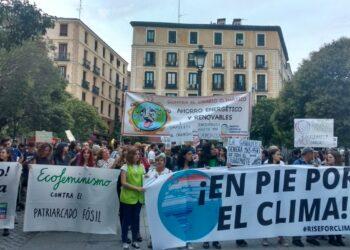 Madrid se moviliza contra el cambio climático