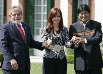 Evo Morales y Cristina Fernández condenan anulación de la candidatura de Lula