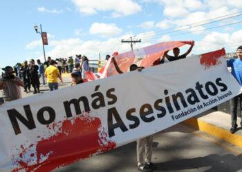 En Honduras siguen asesinando a jóvenes