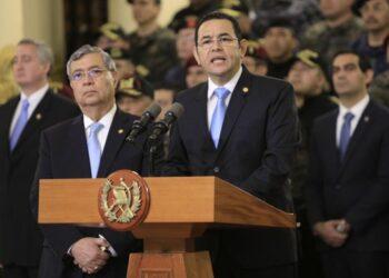 El presidente de Guatemala, Jimmy Morales, retira el mandato a la misión internacional de ddhh CICIG