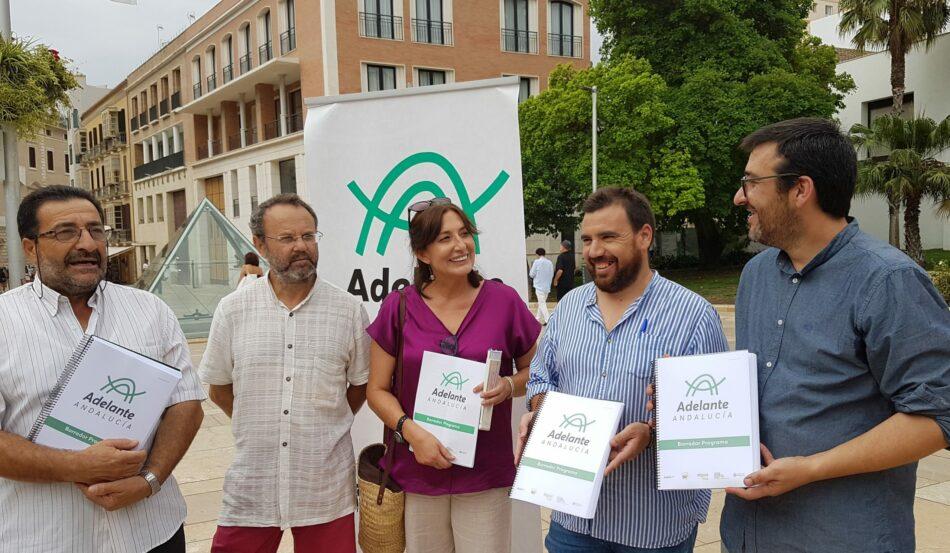 La nueva confluencia Adelante Andalucía se presenta en Málaga