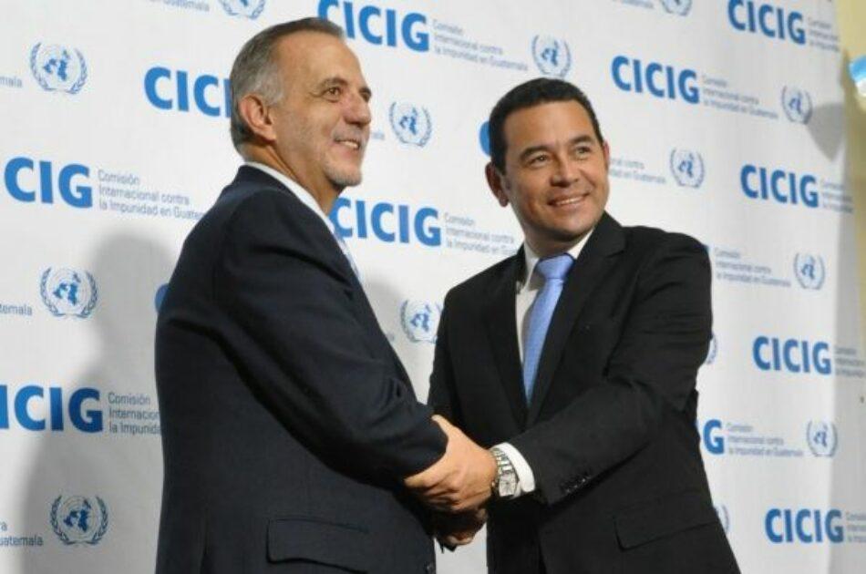 Guatemala: Cronología del conflicto entre Jimmy Morales y la CICIG