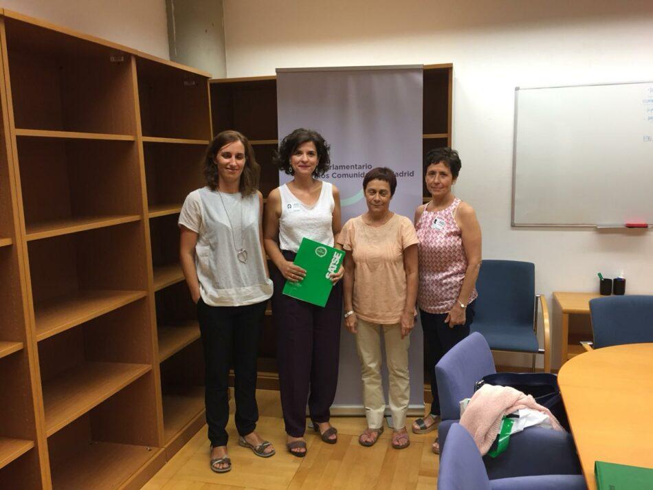 SATSE Madrid se reúne con los responsables sanitarios de PSOE y Podemos en la Asamblea