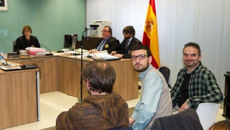 El anarcosindicalismo manifiesta su solidaridad con los condenados por el 'No Caso 14N'