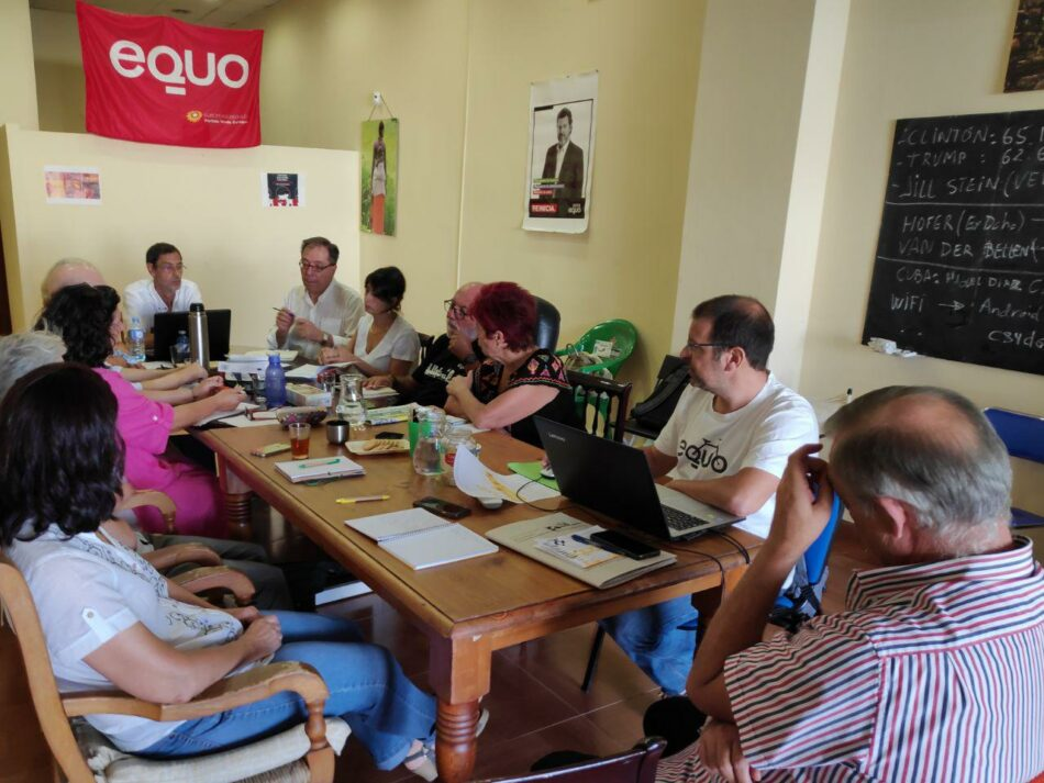 EQUO Andalucía Verdes se desliga de la confluencia en Adelante Andalucía y presentará lista propia en las próximas elecciones