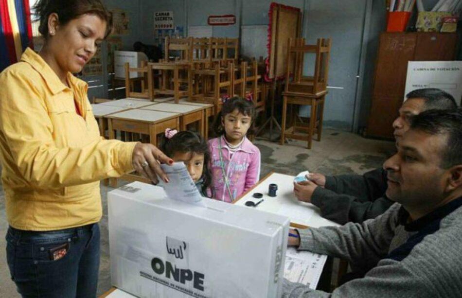 Perú. Resultados oficiales de los comicios para autoridades locales