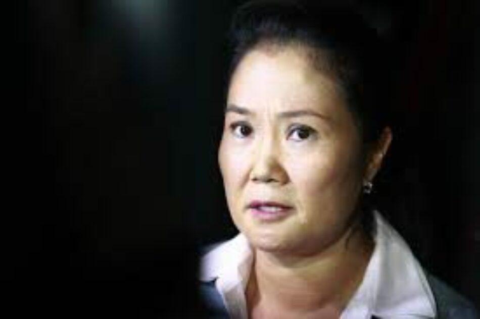 Perú. Dictan orden de detención contra Keiko Fujmori