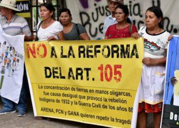 El Salvador: suprimir límite a la tenencia de la tierra no genera desarrollo sino mayor desigualdad