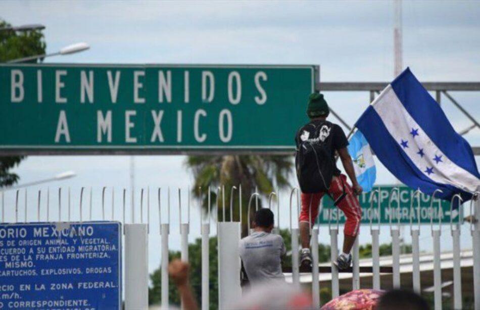 """Alrededor de 500 organizaciones solicitan al gobierno mexicano que atienda a las y los desplazados que integran la """"Caravana Migrante"""""""