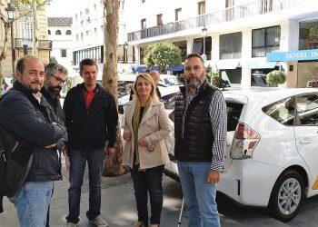 El PCA Sevilla manifiesta su apoyo a las movilizaciones de los taxistas