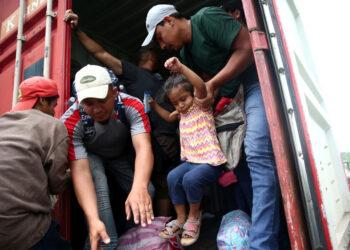ACNUR destaca la importancia y la urgencia de estabilizar la situación de la caravana de Honduras