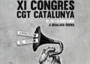 LA CGT de Catalunya finalitza el seu XIè Congrés a Òdena
