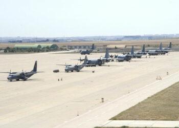 IU reclama que Margarita Robles detalle en el Congreso por qué se prolonga la autorización para que dos aviones y un centenar de militares de EE.UU usen la Base Aérea de Zaragoza
