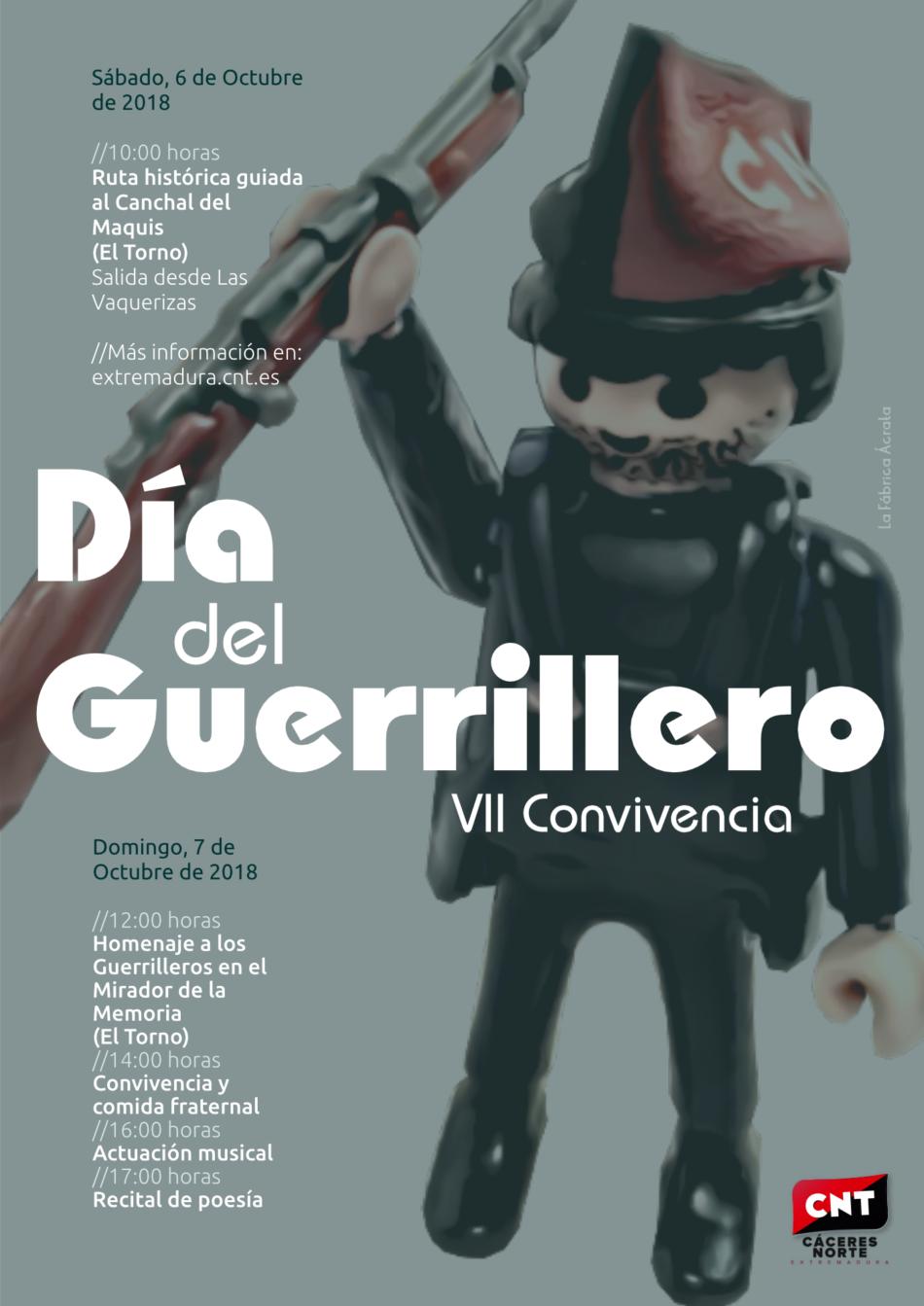 El Torno acoge el Día del Guerrillero 2018