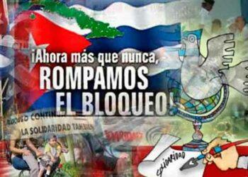 Más voces exigen el levantamiento del bloqueo de EE.UU a Cuba