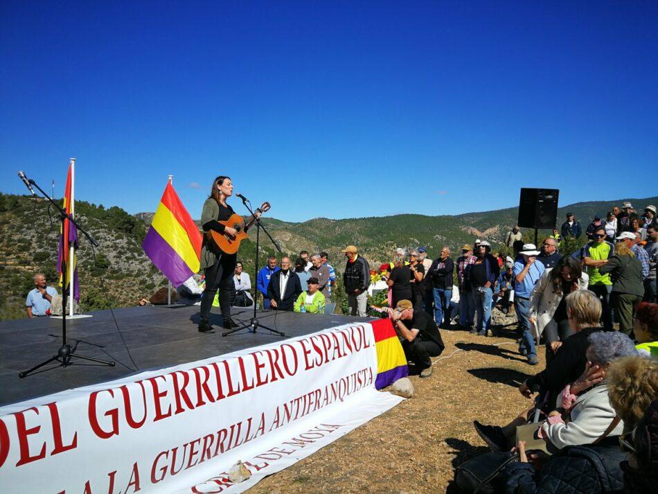 Santa Cruz de Moya celebra el 30 Día del Guerrillero Antifranquista