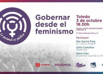 Llega a Toledo la ruta 'Gobernar desde los Feminismos. Lo personal es política'