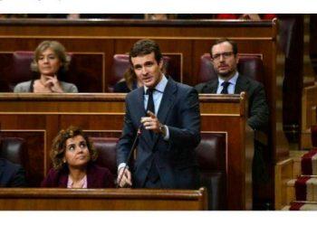 """García Sempere tacha de """"surrealista"""" que Casado viaje a Europa para tratar que Bruselas tumbe los Presupuestos del Estado para 2019"""