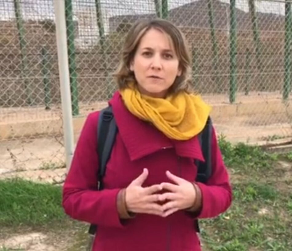 """Marina Albiol denuncia durante la misión del Parlamento Europeo a Ceuta y Melilla el """"fracaso"""" de las políticas de migración del Gobierno del PSOE"""