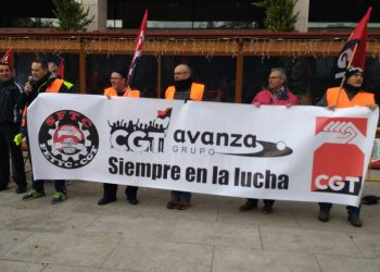 CGT denuncia la situación de la plantilla de la empresa AVANZA de Getafe