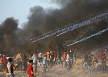 Al menos 7 palestinos asesinados en nuevos ataques del ejército israelí a manifestaciones