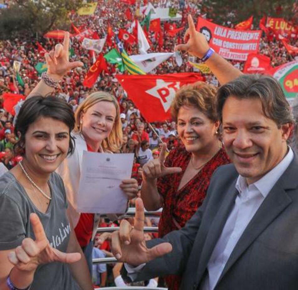 En Brasil, democracia o nazifascismo