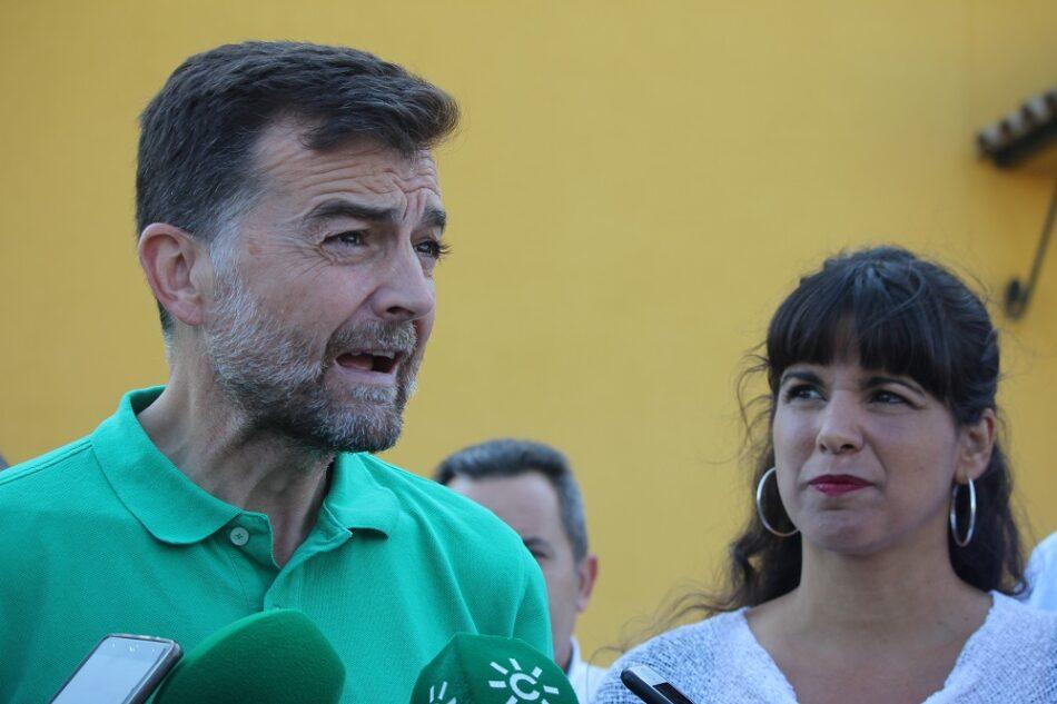 Adelante Andalucía ve insuficiente el acuerdo de Arellano y Montero y reivindica la reforma de la financiación autonómica