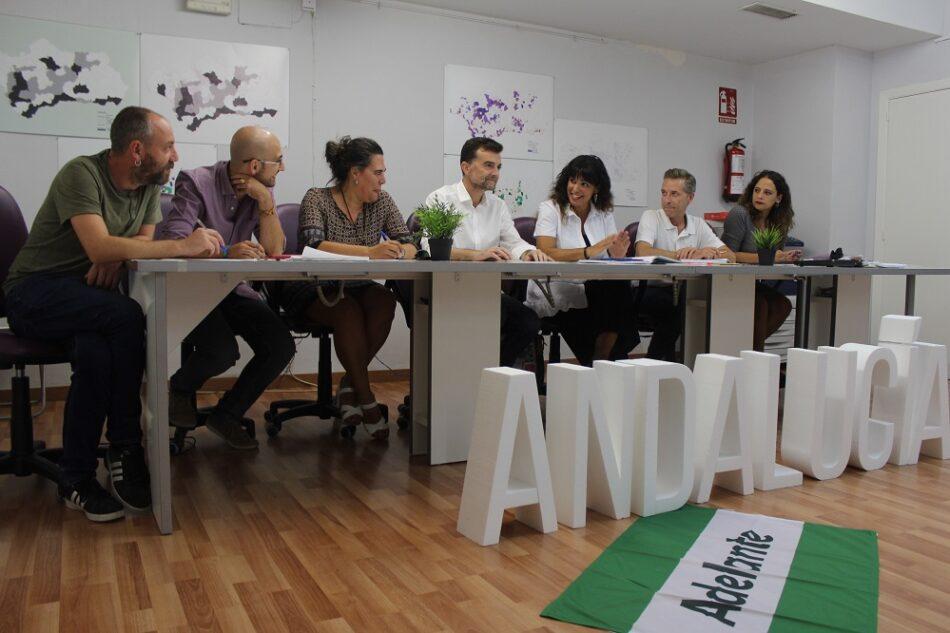 Adelante Andalucía: «el adelanto electoral de Susana Díaz es una muestra de debilidad. Una Andalucía distinta es posible»