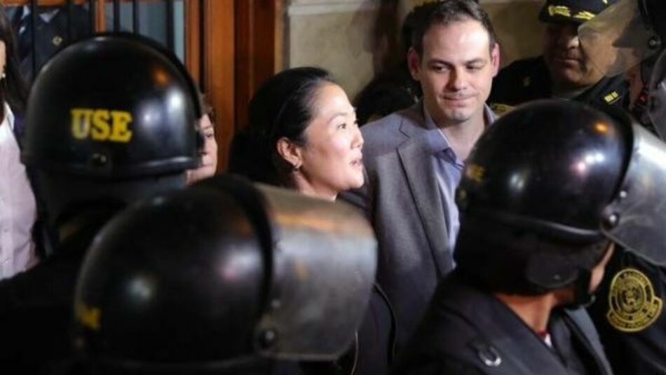 Tribunal peruano revoca detención preventiva de Keiko Fujimori