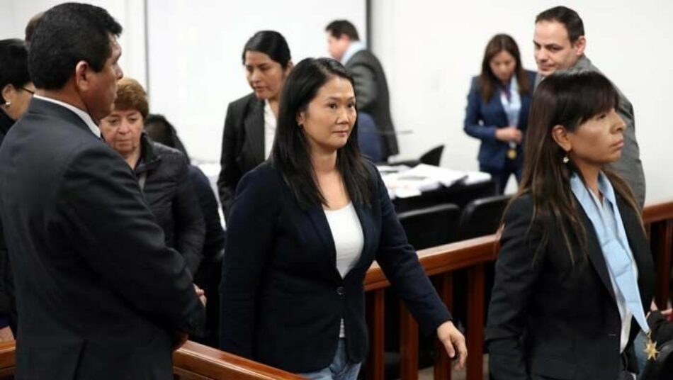 Suspenden la audiencia sobre la petición de prisión a Keiko Fujimori