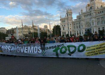 Cambiamos Todo: Colectivos y organizaciones de todo el país se dan cita en Madrid en una marcha multitudinaria