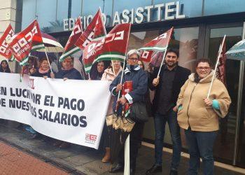 El PCA exige a Asisttel que pague inmediatamente lo que adeuda a sus trabajadoras de ayuda a domicilio