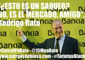 #LaCiudadaniaLoHizo: Comunicado de 15MpaRato sobre la sentencia del Supremo de #CarcelPaRato por #TarjetasBlack