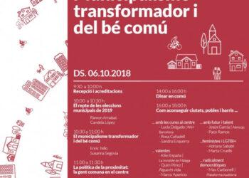 Jornada Municipalisme transformador i del bé comú
